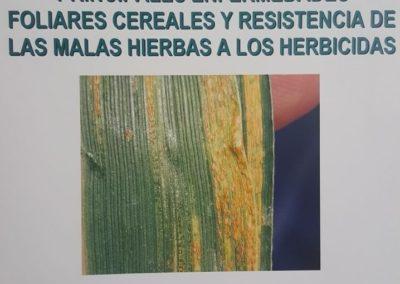 CHARLA INFORMATIVA sobre Enfermedades en el Cereal y Resistencias de las Malas Hierbas.