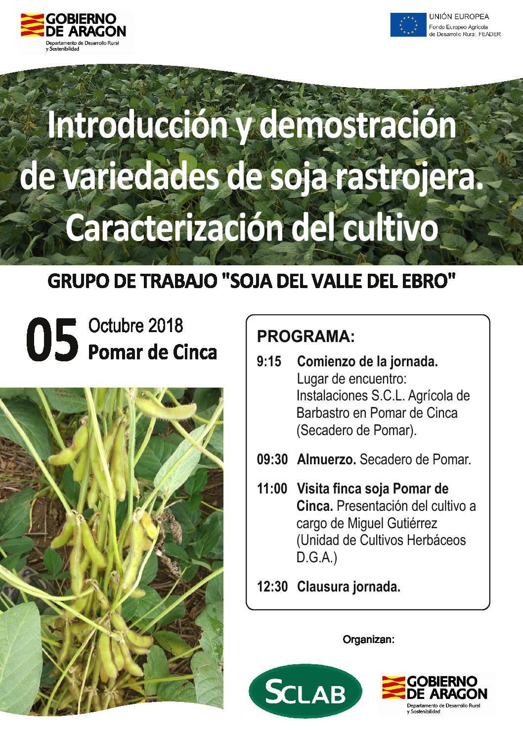 Jornada sobre el cultivo de la SOJA